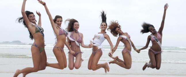 Her er �rets Miss Universe-jenter