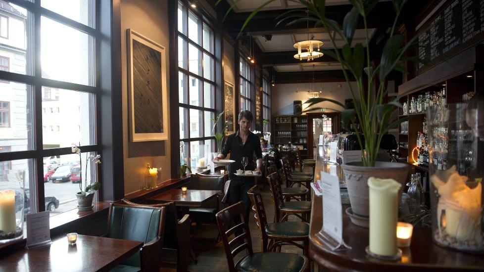 Historisk sus: Soria Moria bar & bistro ligger i bygningen som har v�rt det kulturelle slottet p� Oslos �stkant i over 80 �r. Foto: H�kon Eikesdal / Dagbladet