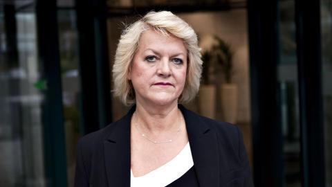 F�R KRITIKK: PST-sjef Janne Kristiansen sier hun vil l�re av 22. juli-angrepene, og at hun blir ved sin lest s� lenge hun har tillit. Foto: Uffe Frandsen/Dagbladet