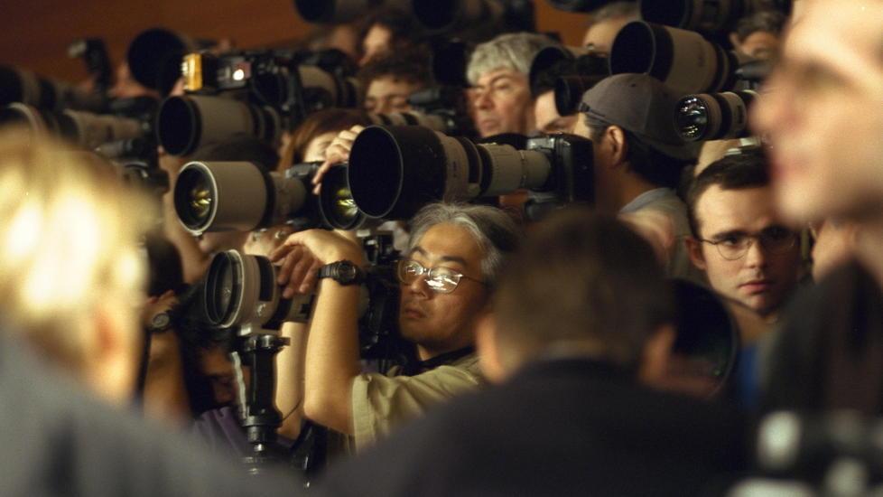 PRESSEST�Y: Teppebombingen av informasjon fra s�rinteresser og l�gnfabrikker er tidvis s� overveldende at uavhengige bilder av virkeligheten blir sprengt bort, skriver John O. Egeland. Foto: Marte Garmann Johnsen