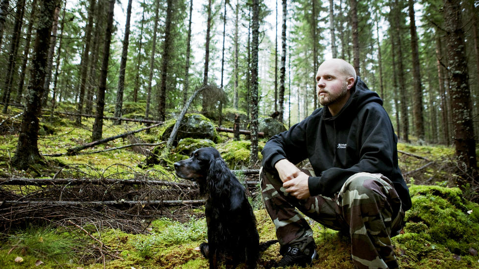 VILLMARKENS MANN? Kristoffer Clausen innr�mmer overfor Dagbladet � ha bl�ffet norske TV-seere. Foto: Nina Hansen / Dagbladet