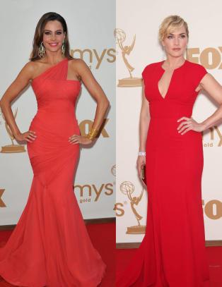 Kate Winslet og Sofia Vergara i flammende r�dt