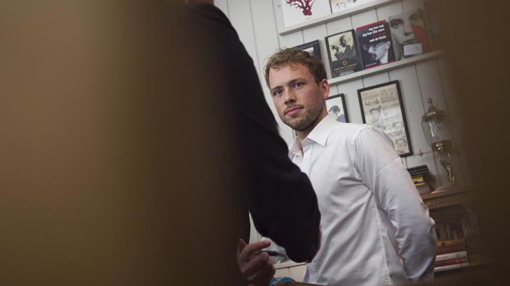 STILLER: Mandag gjorde SV-statsr�d Audun Lysbakken det klart at stiller som kandidat til ledervervet i SV. Foto: Heiko Junge / Scanpix