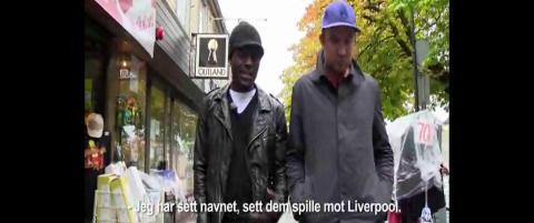 John Chibuike har sett RBK-Liverpool - som eneste mann i verden