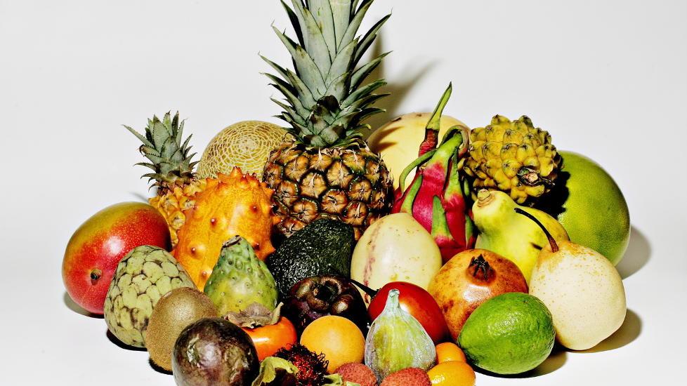 frukt med lite sukker