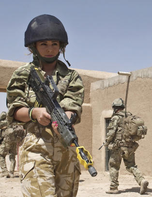 Cheryl Cole p flrter'n med Afghanistan-soldat