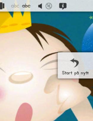 F�rstemann til � lage en ordentlig god interaktiv barnebokapp!