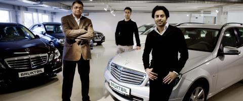 Solgte biler for en kvart milliard i fjor