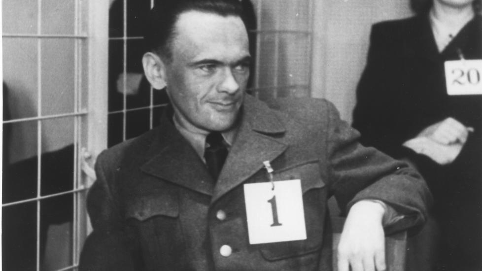 NUMMER EN: Henry Rinnan ble d�mt for 13 drap. 1. februar 1947 klokka 4.05 ble han henrettet p� Kristiansten festning i Trondheim. Foto: Ukjent/ Arkiv / SCANPIX