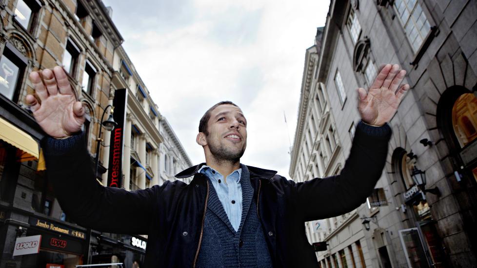 STOR SATSING: Freddy dos Santos debuterer som programleder i �Amazing Race Norge�, som blir den st�rste norsk realityproduksjonen noensinne, if�lge produksjonsselskapet. Foto: Lars Eivind Bones /Dagbladet