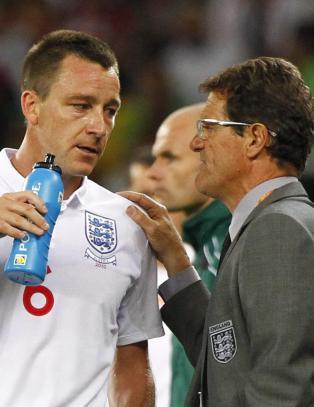 Capello snerrer mot FA etter Terrys rasismestraff