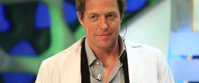 Hugh Grant har blitt pappa for frste gang