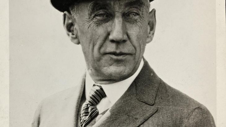 STEINHARD EKSPEDISJONSLEDER? Roald Amundsen. Foto: NASJONALBIBLIOTEKET