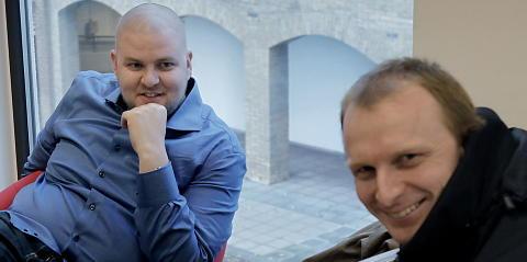 TAUSE: Hverken nestleder Kenneth Fuglemsmo (t.v.) eller organisasjonssekret�r Henrik Orm�sen �nsker � kommentere saken. Foto: ERLING H�GELAND/Dagbladet
