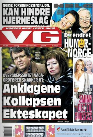 INTERVJUET: VG i dag.