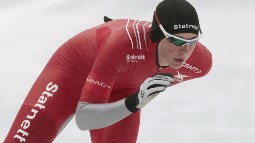 ÅRSBESTE: Ida Njåtun blir bedre og bedre i verdenscupen på skøyter. Foto: Terje Bendiksby / Scanpix