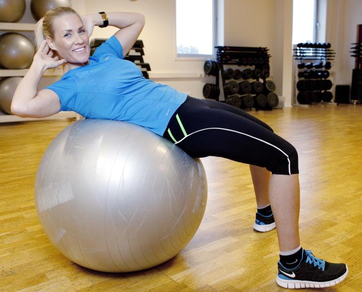 trening gange slank rask gange