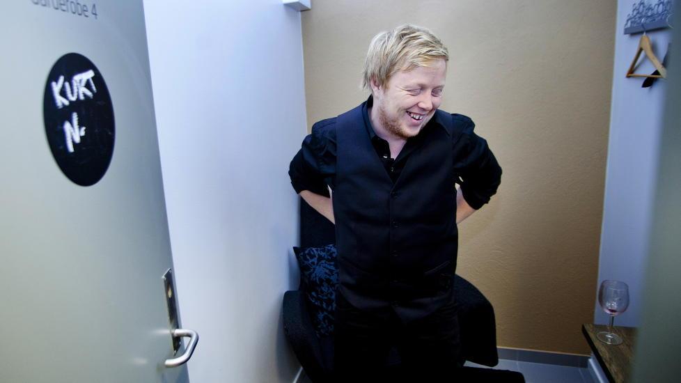 P� MORSM�LET: Kurt Nilsen debuterer p� norsk p� et nytt album som kommer til v�ren. F�rste smakebit er �Den gamle dansen�, som han synger under den tv-sendte Spellemannprisen i kveld. Foto: Sveinung U. Ystad, Dagbladet