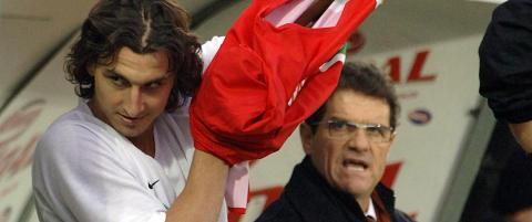 Brukte van Basten-video for � l�re Zlatan � score