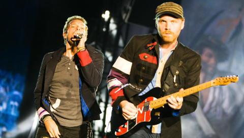 TIDLIG: Coldplay p� Koengen i Bergen. Bandet solgte godt hos Apollon inntil det ble popul�rt i massemarkedet. Da takket Apollon-kundene nei. FOTO: EIVIND SENNEST