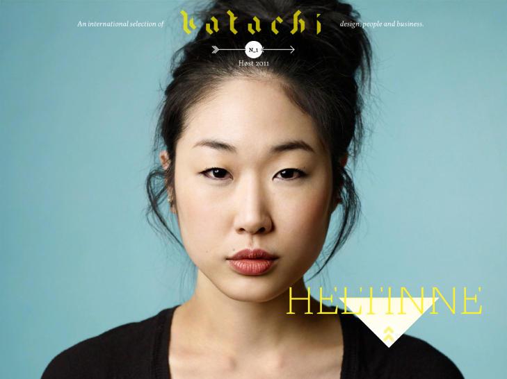 F�RSTE UTGAVE: Katachi ble lansert i dag.
