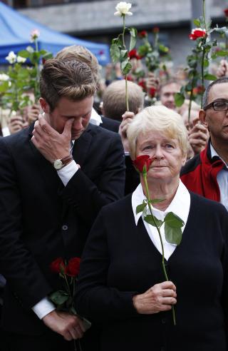 HOVEDM�L: If�lge VG har Anders Behring Breivik utpekt Eskil Pedersen og Gro Harlem Brundtland som to av sine hovedm�l 22. juli. Foto: Erlend Aas / Scanpix