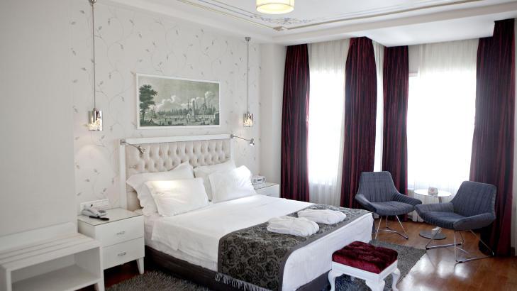 LUFTIG: Amira byr p� gode senger og store rom hvis du bruker noen hundrelapper ekstra.
