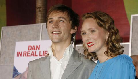 EKTEPAR OG SAMARBEIDSPARTNERE: Sondre og Mona Lerche har v�rt gift siden 2005. Foto: Fred Prouser/Reuters/Scanpix