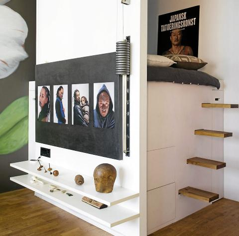 Bygge seng med oppbevaring