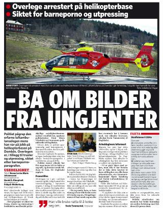 Faksimile: Dagbladet 27. oktober 2010