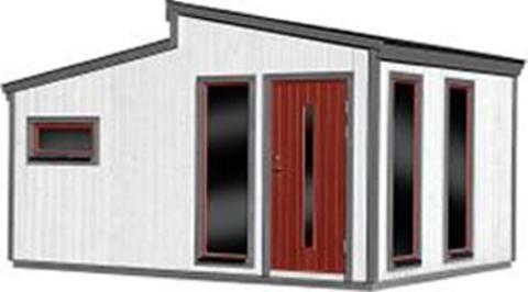 Stalldør hytte