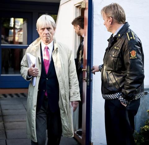 EKSPERT PÅ BARNEVERNSRETT: Advokat Knut Lindboe. Foto: Benjamin A. Ward