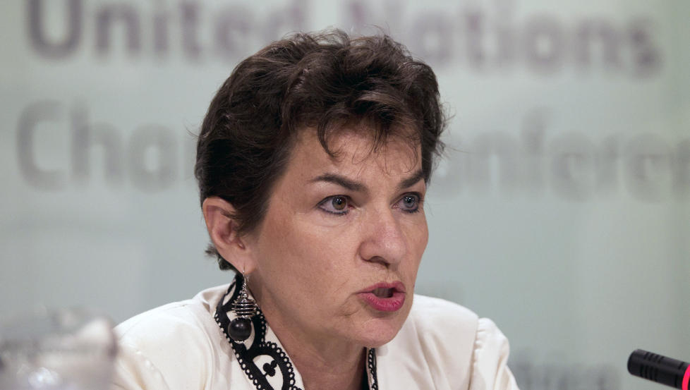 Får ikke spalteplass: FNs klimasjef Christiana Figueres under forhandlingene i Durban. «Hva husker vi nordmenn fra den første ukas forhandlinger i Durban? Vel, om vi har fulgt med på NRK Dagsrevyen: Ingenting annet enn at forhandlingene åpnet med kulturinnslag, og at forventningene er beskjedne», skriver artikkelforfatteren. Foto: Rogan Ward/Reuters/Scanpix