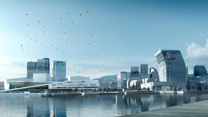 I BJ�RVIKA: I dag avgj�res det om Lambda i Bj�rvika vil bli realisert. Alt tyder p� at Oslo bystyre stemmer nei til prosjektet.