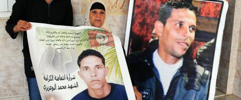 N� minnes tunisierne mannen som ble et symbol p� deres sinne