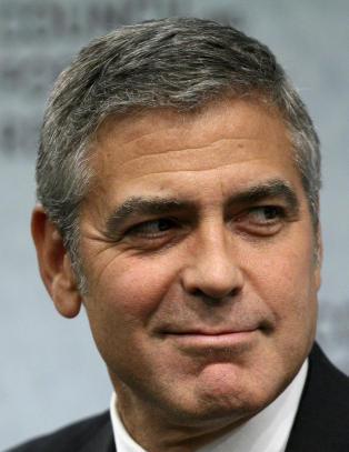 George Clooney smurte inn skoa sine med kj�ttboller
