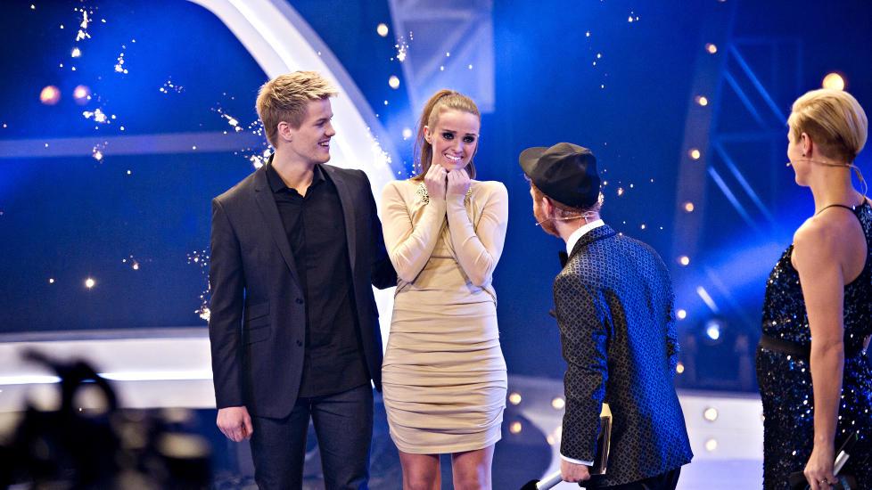 SJARMERTE SEERNE: �n million tv-seere fikk med seg �yeblikket da Jenny Langlo ble k�ret til vinneren av �rets �Idol�. Foto: John T. Pedersen / Dagbladet