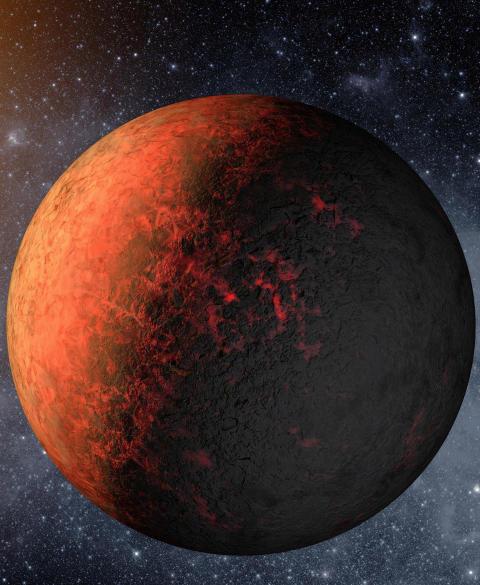 HADES-AKTIG: En av de bittesm� planetene p�vist av Kepler er Kepler-20e. Dessverre ligger den for n�r moderstjernen til at det kan finnes flytende vann eller liv. Foto: REUTERS/NASA/Ames/JPL-Caltech/SCANPIX