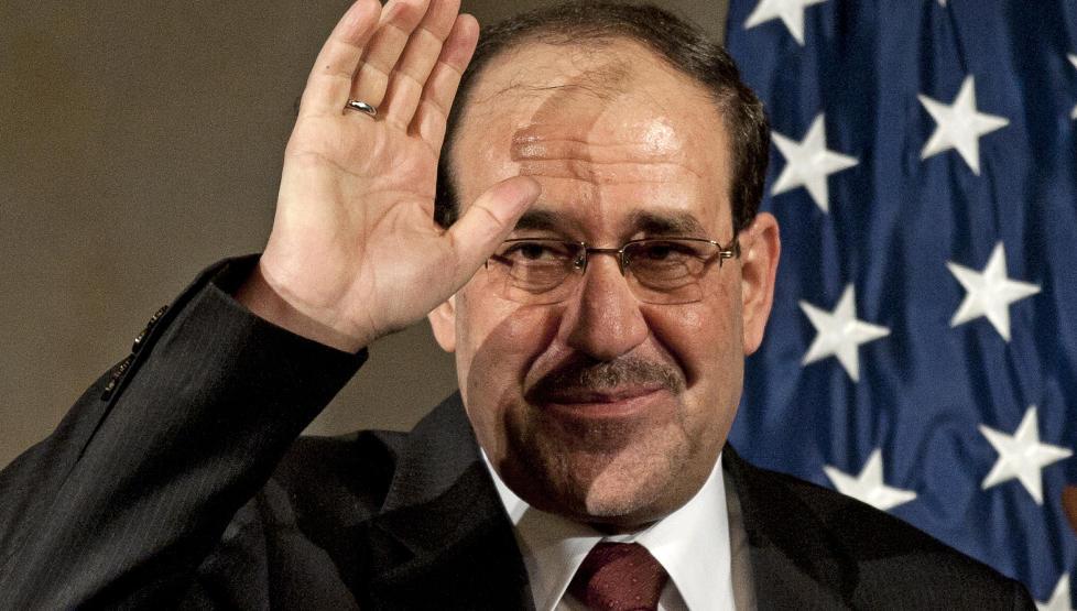 SVEKKET NASJONALISME: For � sikre seg sin andre periode som statsminister valgte Nouri al-Maliki til slutt � vende seg mot sjiamuslimene. Foto: Cliff Owen/AP/Scanpix