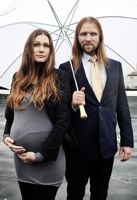 BABYLYKKE: 2011 var året da Marianne Aulie twitret at hun er gravid, før hun og kjæresten Aune Sand avslørte overfor Dagbladet at de skal gifte seg. Foto: Linus Sundahl-Djerf