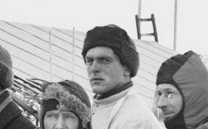 GRAN I ANTARKTIS: Nordmannen Tryggve Gran var skiinstrukt�r for Robert F. Scotts sydpolekspedisjon for hundre �r siden. Foto: AFP PHOTO/ SPRI/ HERBERT PONTING