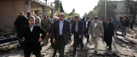 Krever at observat�rgruppa trekker seg ut av Syria