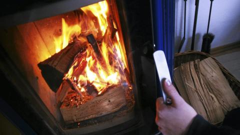Fyring i rentbrennende ovn