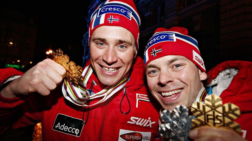 MINNER: Johan Kj�lstad tok s�lv og gull i sprint i VM for tre �r siden. N� er han ferdig med sprint og satser langl�p i stedet. Foto: ARNT E. FOLVIK / Dagbladet