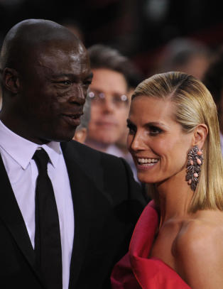 Heidi Klum og Seal skiller seg