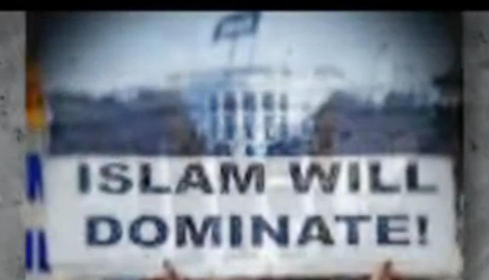 KONTROVERS: Politiet i New York pr�vde � hindre offentliggj�ringen av dokumenter som viser at en sv�rt islamkritisk film ble vist som del av et offisielt undervisningsopplegg. Foto: Fra filmen �The Third Jihad�