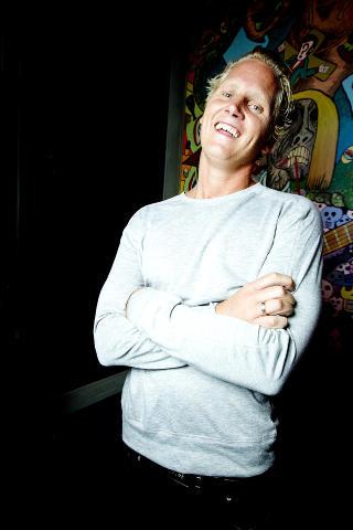 BLE INSPIRERT: �yvind Sauvik, bedre kjent som Vinni, hentet med seg inspirasjon fra Hvaler-oppholdet til � fullf�re sitt f�rste norske album. Foto: Bj�rn Langsem / Dagbladet