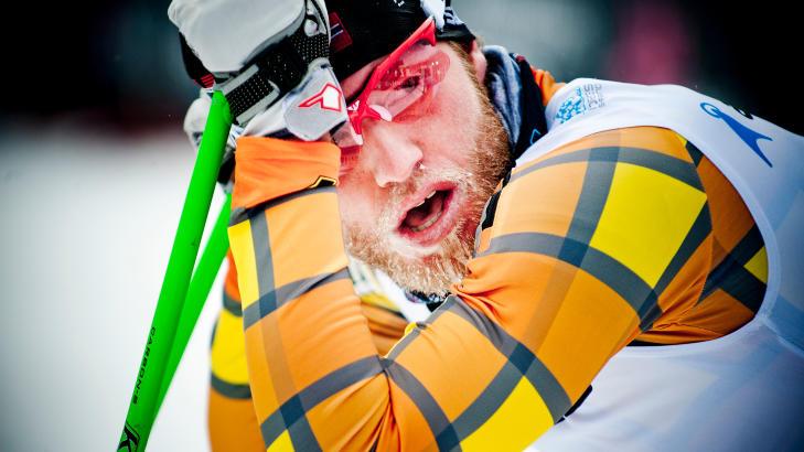 HEDERLIG UNNTAK: Martin Johnsrud Sundby vant 15-kilometeren i utklassingsstil.  Foto: Thomas Rasmus Skaug / Dagbladet