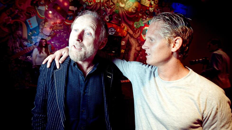 BRA MATCH: Halvdan Sivertsen og �yvind �Vinni� Sauvik fra Paperboys er et eksempel p� hvor popul�rt det kan v�re � koble forskjellige artister p� samme tv-scene. Foto: Bj�rn Langsem