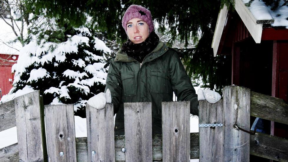 STARTNEKT: Kristin St�rmer Steira er under Olympiatoppens minstegrense for vekt og fettprosent, og m� st� over helgas verdenscuprenn i russiske Ryblinsk. Foto: Tormod Brenna